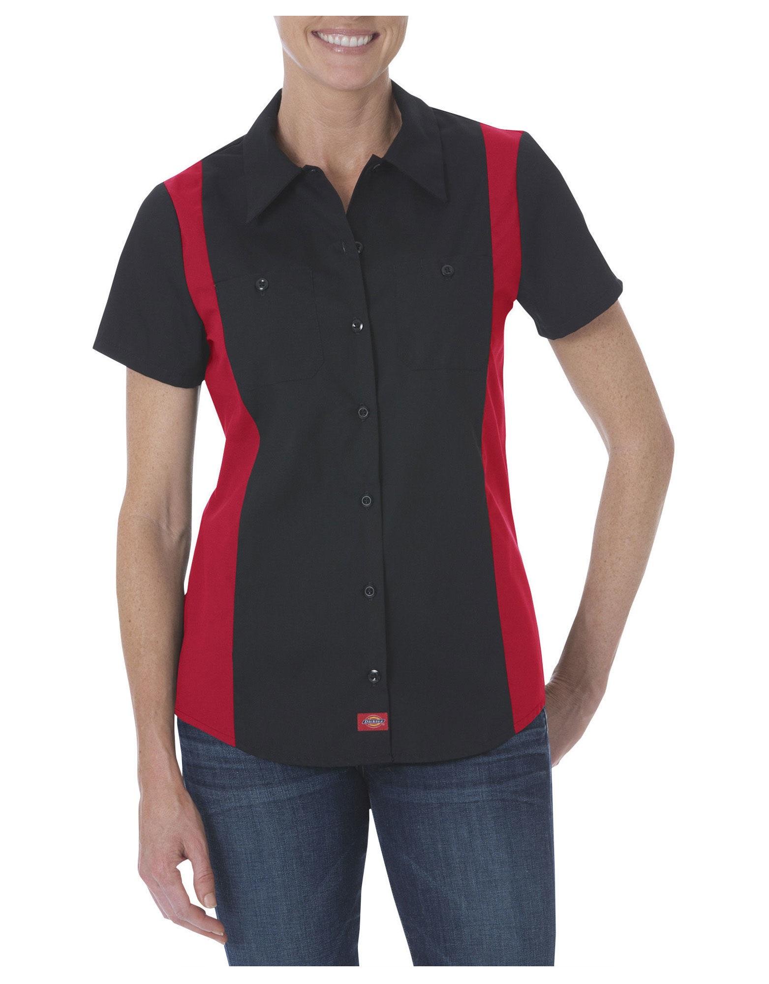 f8827154 Women's Industrial Short Sleeve Color Block Shirt – Legacy School ...